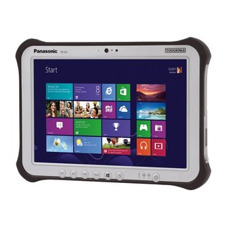 Panasonic Toughpad FZ-G1 - Tablet - Core i5 7300U / 2.6 GHz - Win 10 Pro 64-Bit - 8 GB RAM - 256 GB SSD